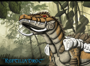 Chameleon-Reptilia-Droc-Chris-Trefz-Jungle-Sci-Fi