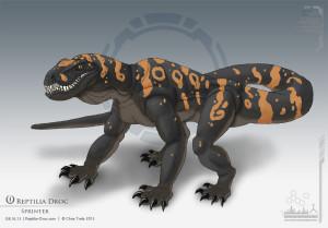 sprinter_G2_Reptilia-Droc_Chris-Trefz_reptiles_sci-fi_space