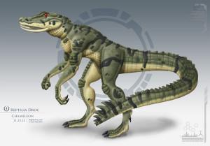 Reptilia Chameleon