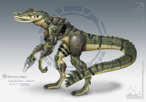 chameleon G2 Armor Design - Reptilia Droc