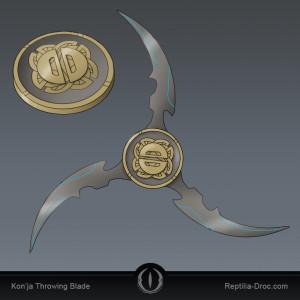 throwing blade